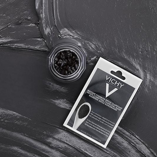 Vichy   Maseczka oczyszczająca z aktywnym węglem
