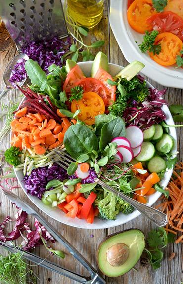 Antiaging - sałatka warzywna