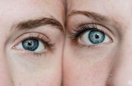 Ekspozom - skóra i dwie połówki twarzy