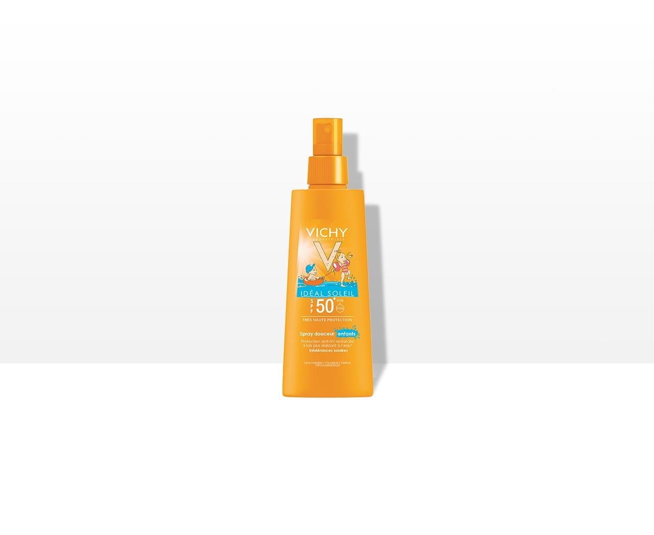 Delikatny spray dla dzieci SPF 50+, VICHY, IDEAL SOLEIL