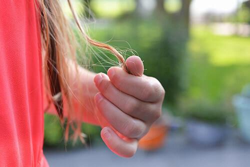 Menopauza - cienkie włosy