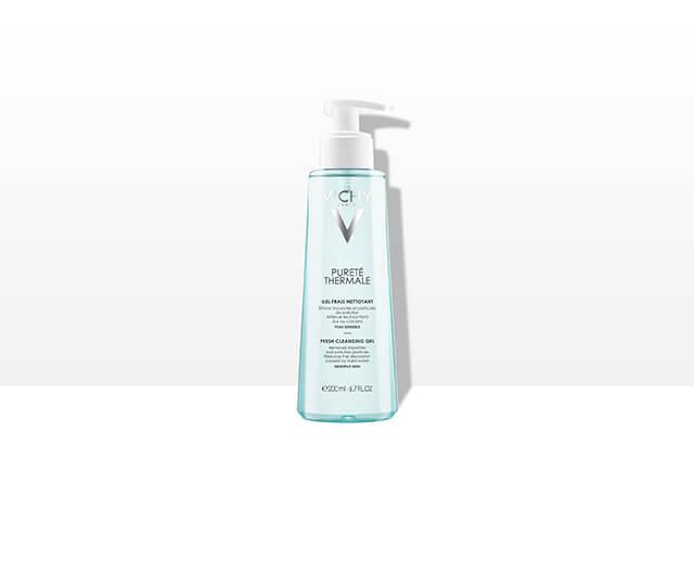 Odświeżający żel do mycia twarzy, Vichy, Pureté Thermale