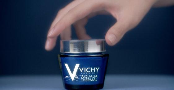 Krem-maska Aqualia na noc firmy Vichy: SPA w słoiczku