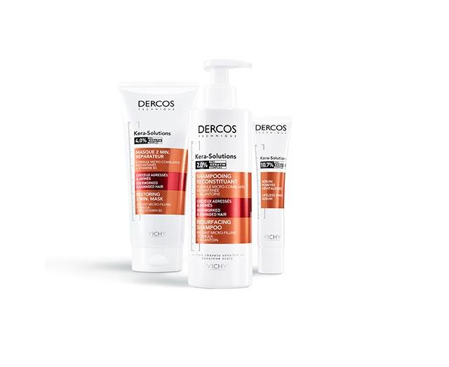 Dercos Kera-Solutions - 2-minutowa maska odbudowująca