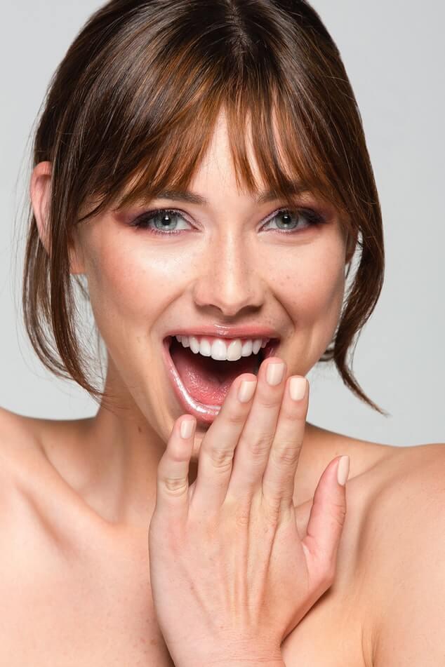 Uśmiechająca się kobieta
