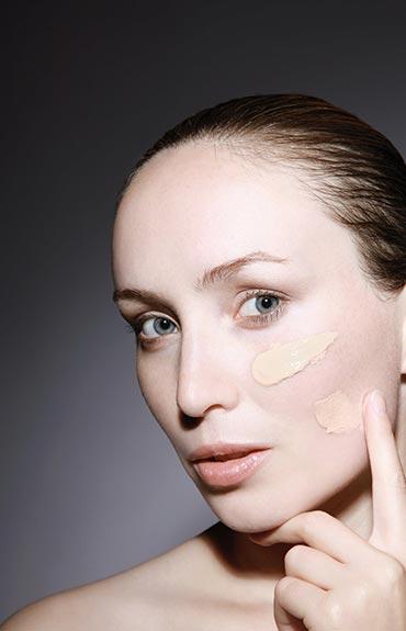 Kolor podkładu powinien być idealnie dobrany do odcienia skóry