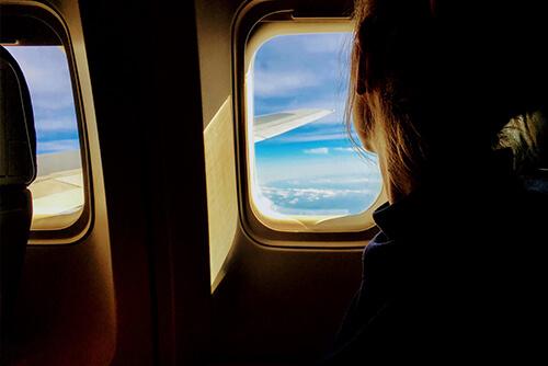 Ekspozom - lot samolotem