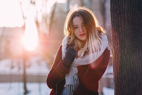 Ekspozom i UV - słońce zimą
