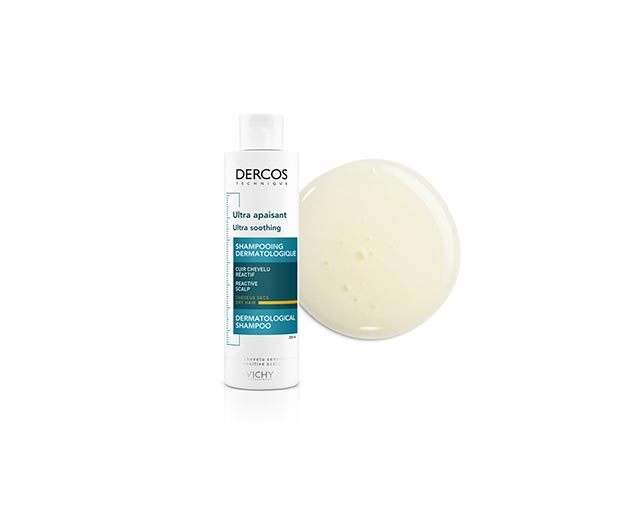 Dercos - Ultrakojący szampon do włosów suchych
