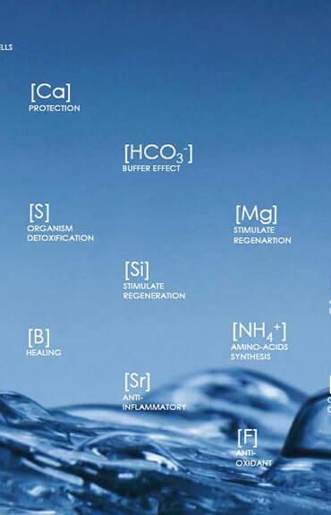 Skład wody termalnej Vichy
